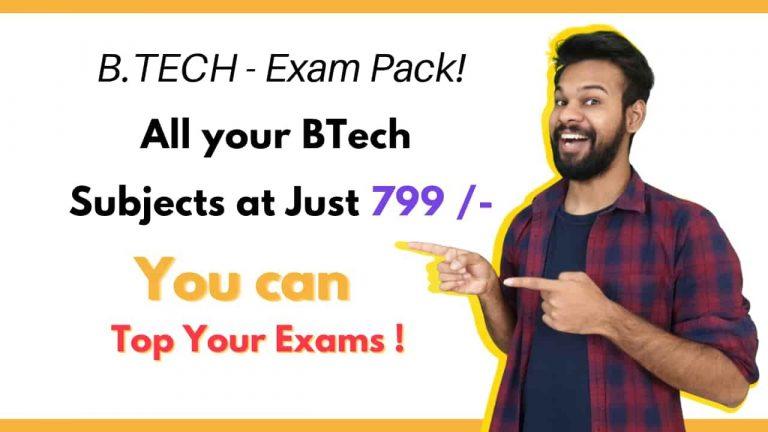 B.TEch Exam Pack