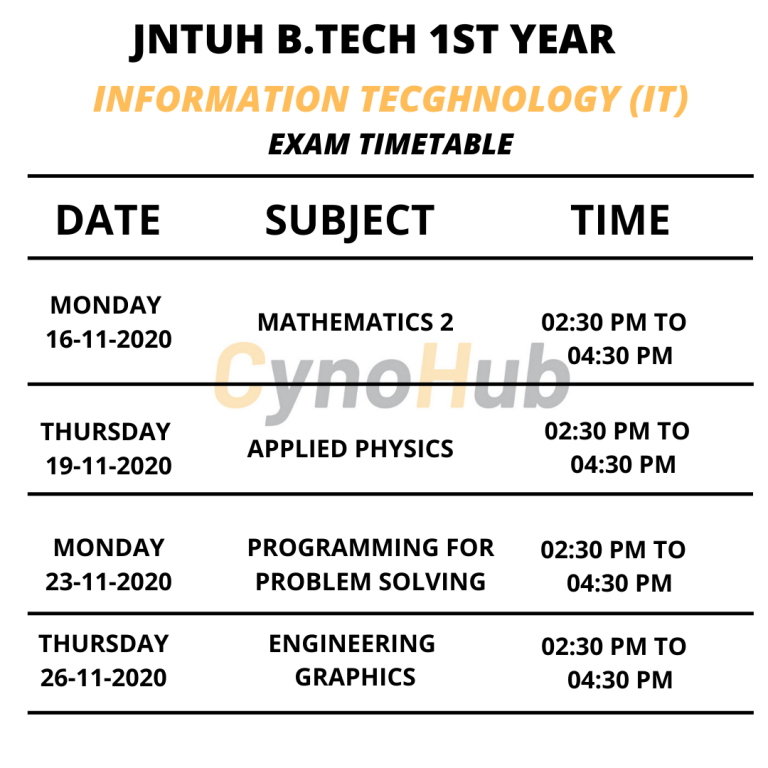 IT-timetable