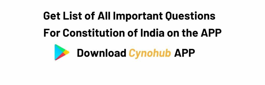 JNTUK R20 B.tech Constitution of India Syllabus