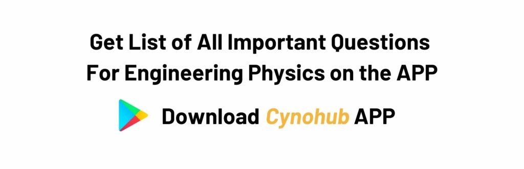 JNTUA B.tech R20 Engineering Physics Syllabus