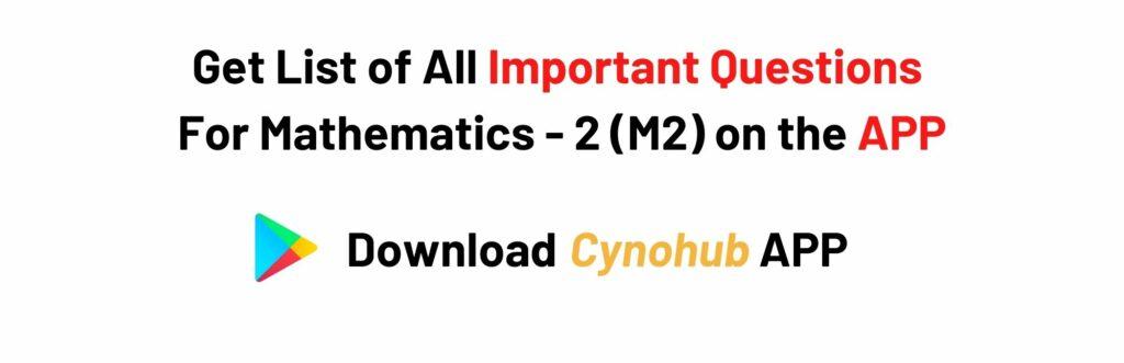 Mathematics 2 Syllabus JNTUK